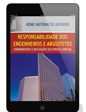 eBook Responsabilidade dos Engenheiros e Arquitetos: Fundamentos e Aplicações da Perícia - Tablet
