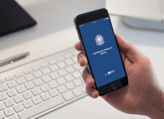 Carteira de Trabalho digital - Governo Federal
