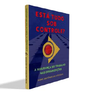 Perfil 3D Capa Livro Está Tudo sob Controle? A Segurança do Trabalho nas Organizações