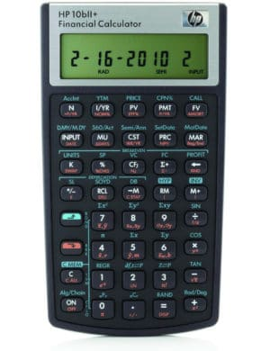 Calculadora Financeira HP 10bII Plus