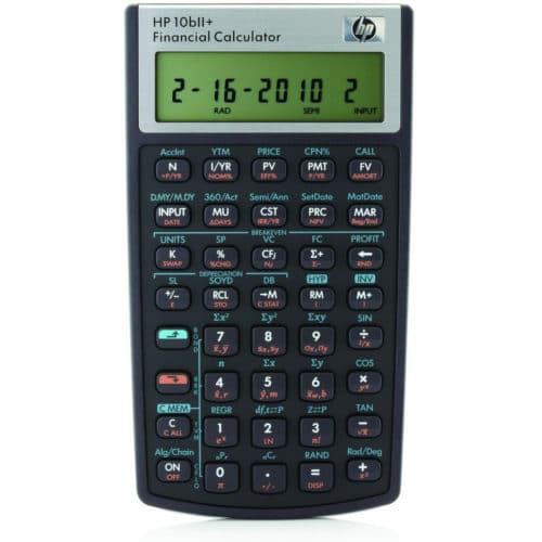 Calculadora Financeira HP 10bII Plus