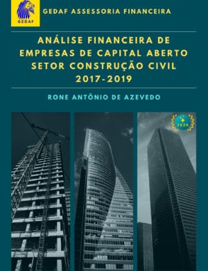 Capa eBook Analise Financeira Empresas Construção Civil 2017-2019