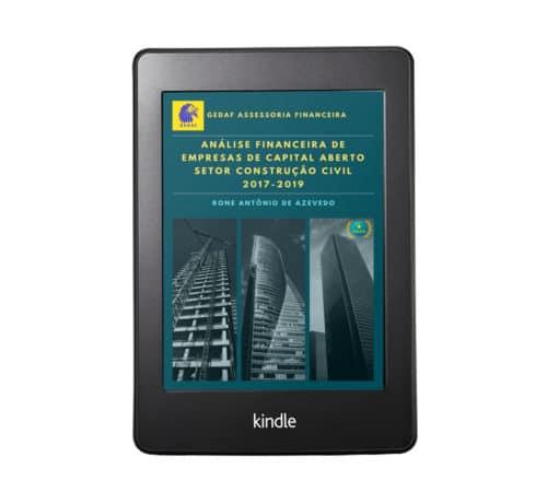 eBook Analise Financeira Empresas Construção Civil 2017-2019 - Leitor Kindle