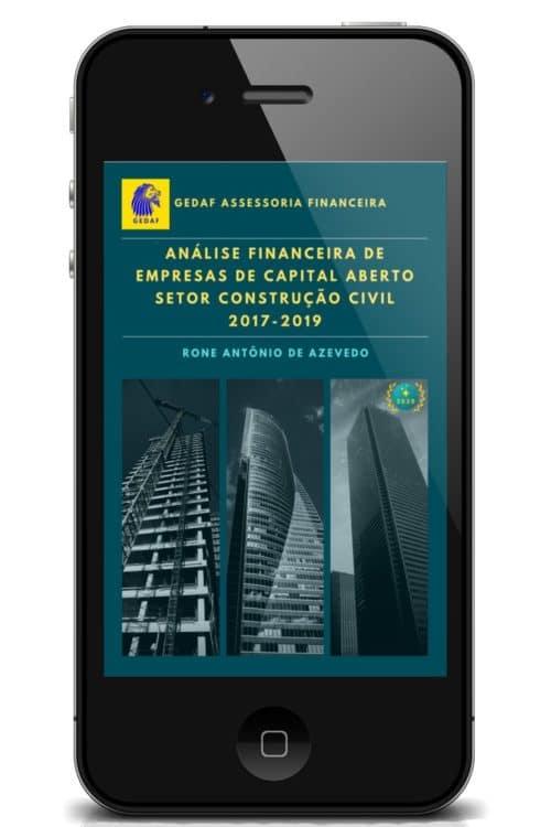 eBook Analise Financeira Empresas Construção Civil 2017-2019 - Leitor Celular