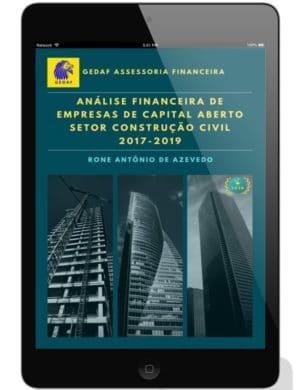 eBook Analise Financeira Empresas Construção Civil 2017-2019 - Leitor Tablet