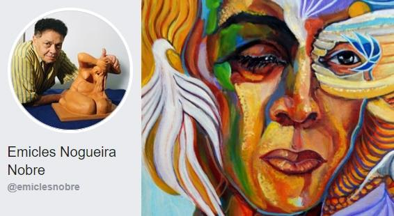 Artista Emicles Nogueira Nobre