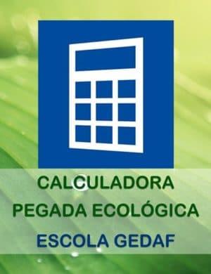 Calculadora Pegada Ecológica - Escola GEDAF