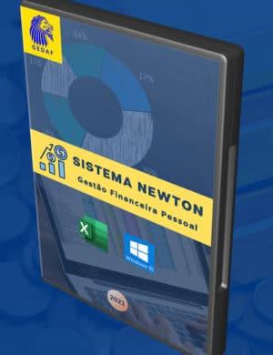 Box 3D Sistema Newton Gestão Financeira Pessoal 2021