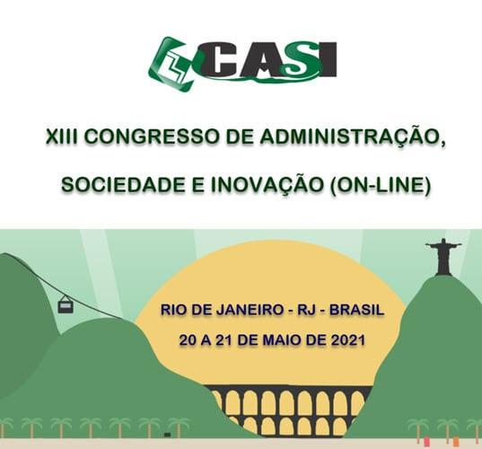 XIII CASI Congresso de Administração e Inovação Online