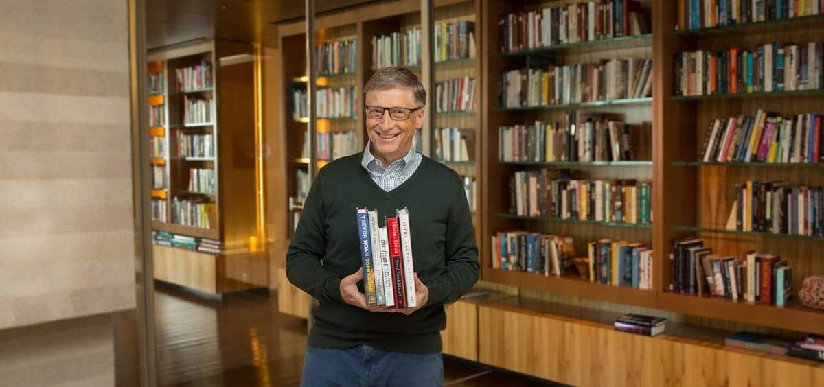 Bill Gates na Biblioteca - livros selecionados