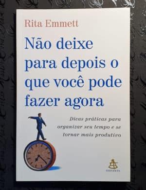 Livro Não Deixe para Depois - Rita Emmett (Capa 2)